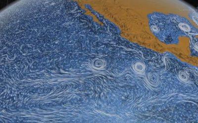 The Ocean Van Gogh style Circulation