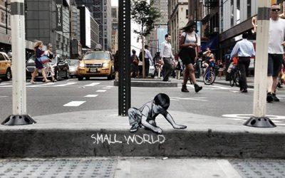 Tiny Figures in NYC